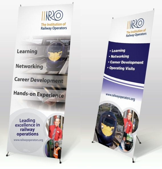 Pull-up Banner Stands for IRO