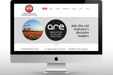 Web design for the Association of Railway Executives