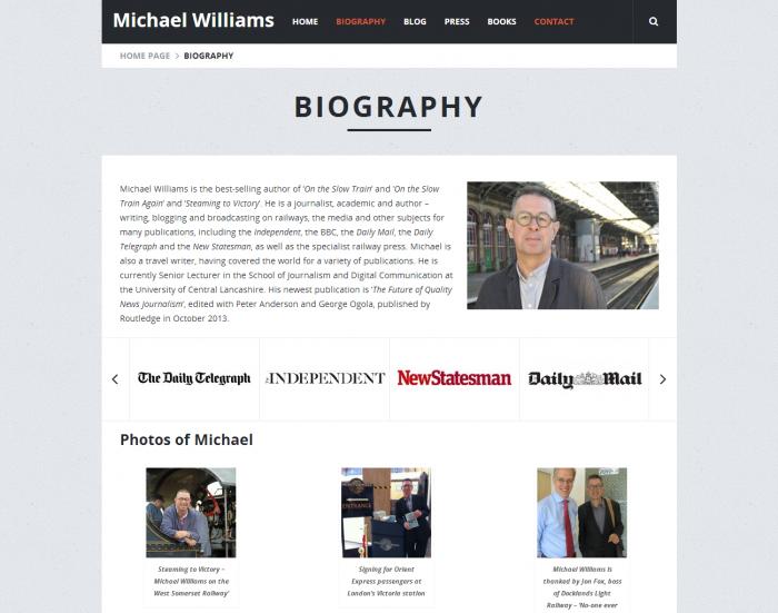 Michael Williams - Biography