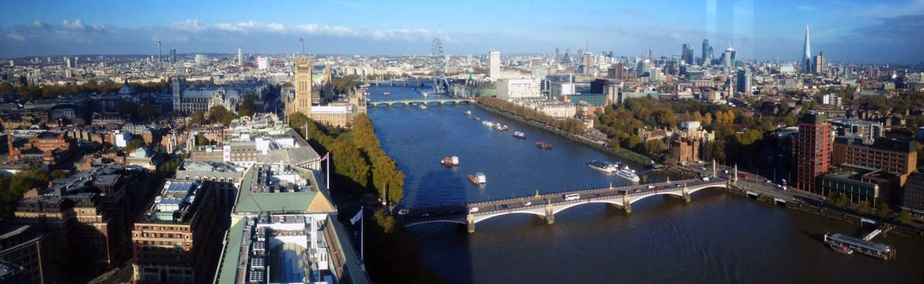View from the Millbank Tower Altitude 360
