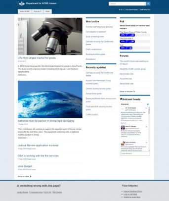 UK-government-intranet