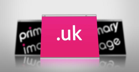 Dot UK domain name