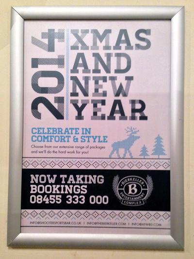 Christmas Bar Sign