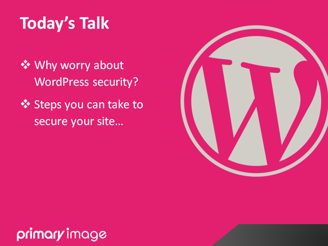 WordPress Security Slide4