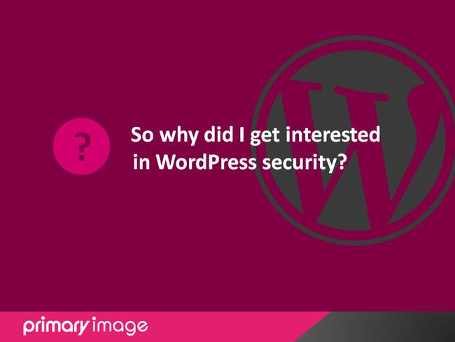 WordPress Security Slide8