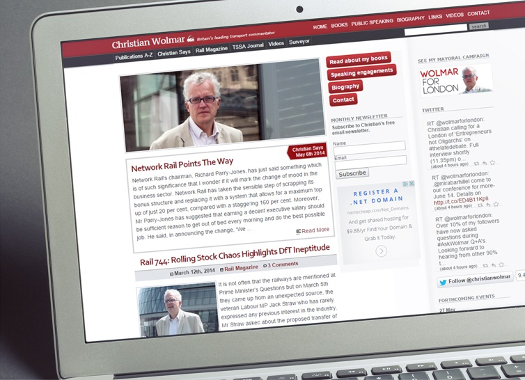 Christian Wolmar's old website