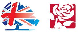 Conservative Labour logos 2015