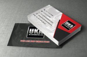 UK Automotive Business Cards