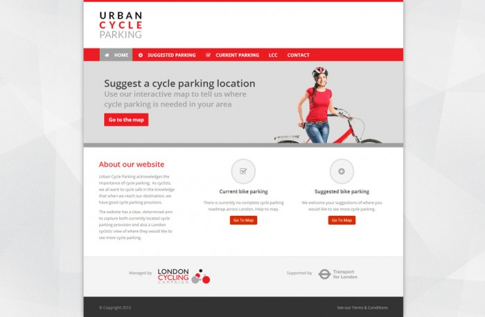 Urban Cycle Parking - mockup