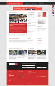 Christian Wolmar's new 2014 website