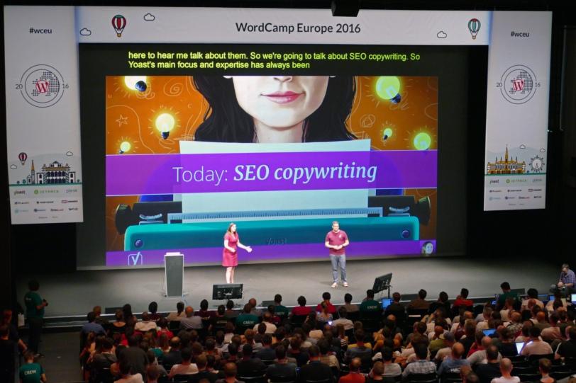Yoast SEO at WordCamp Europe 2016