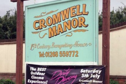 PVC outdoor banners for Cromwell Manor