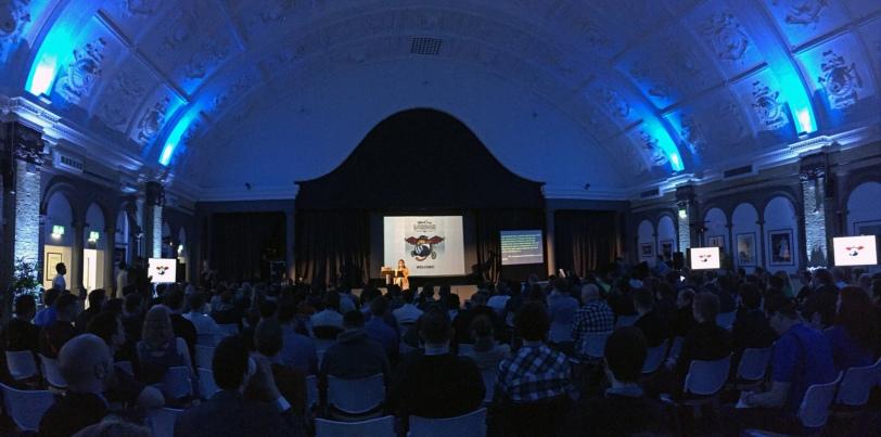 WordCamp London 2016 main hall