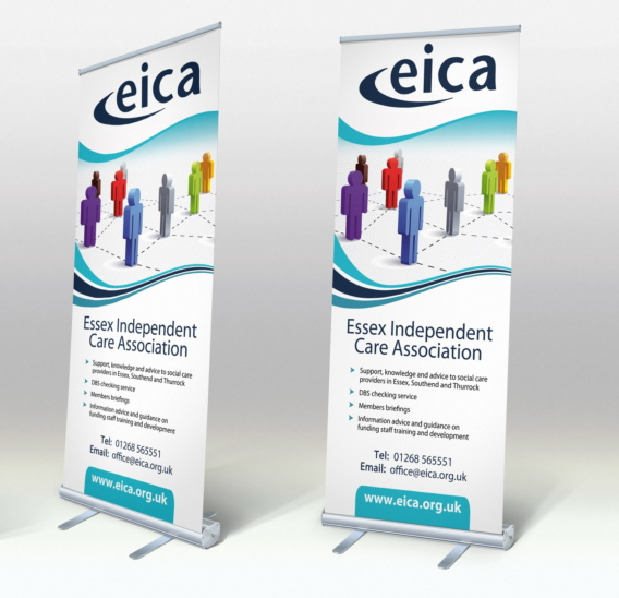 EICA banner stand