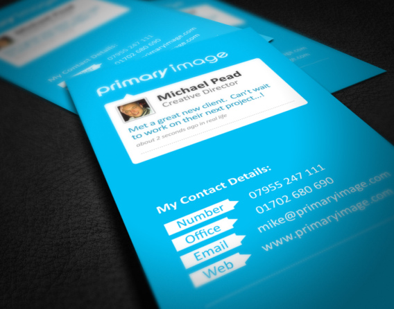 Primary Image business cards