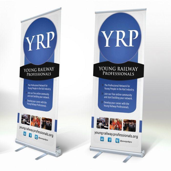 YRP Banner Stand design