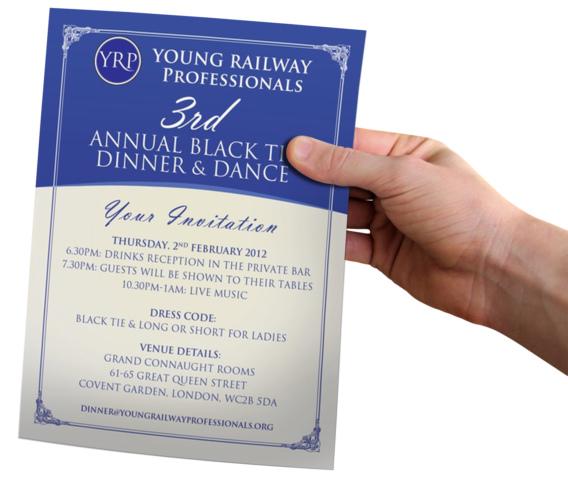 YRP Dinner Flyer