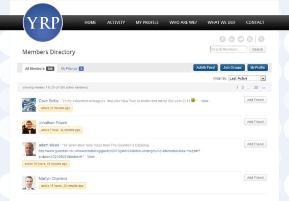 YRP Members Directory