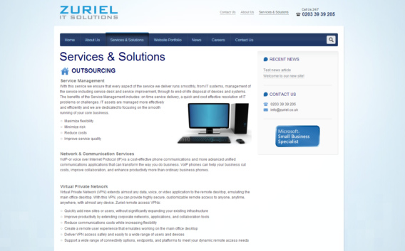 Zuriel IT services