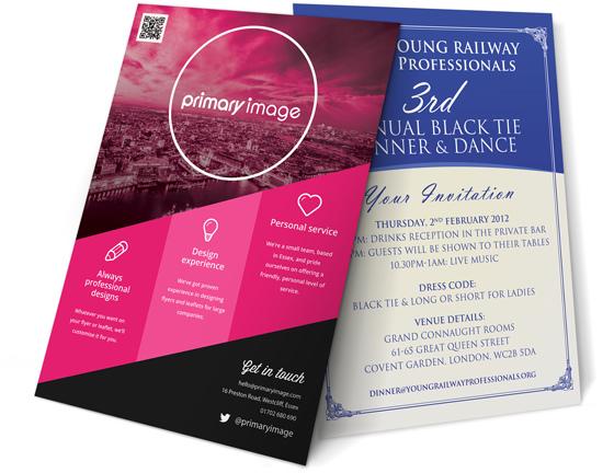 flyer leaflet design primary image