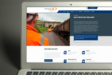 Website rebuild for Rail Forum East Midlands