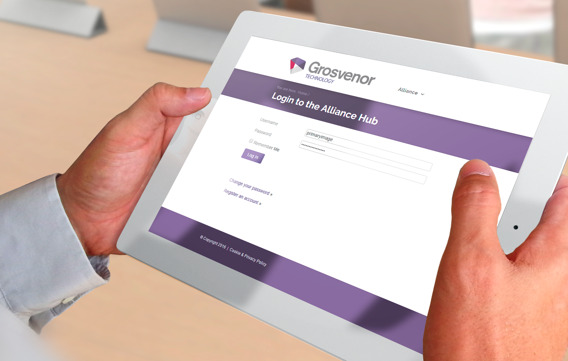Grosvenor Technology login
