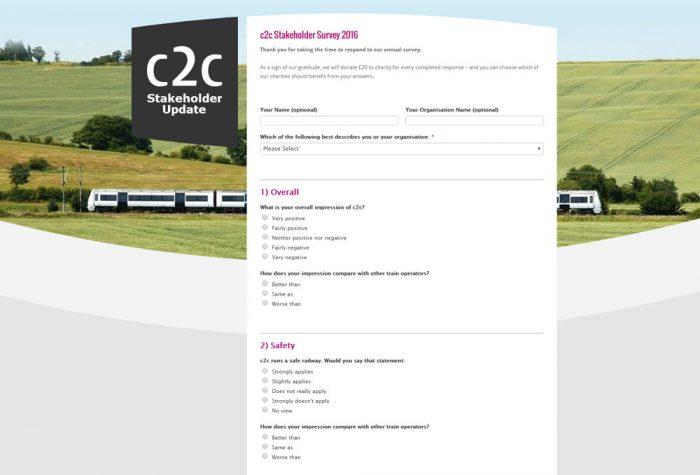 c2c Stakeholder Survey