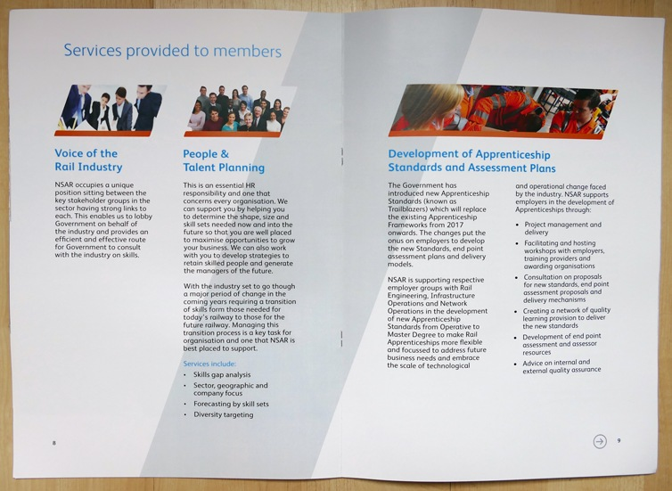 brochure design inside