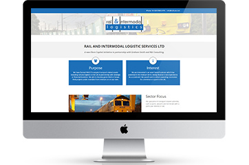 Web design for a logistics company