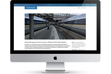 Web design for a civil engineering firm